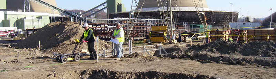 Ground Penetrating Radar on Construction Site